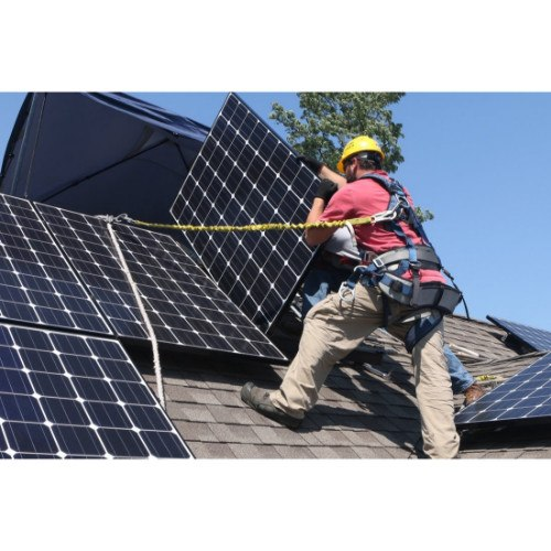 Solar Water Heater And Solar Photovoltaic Systems