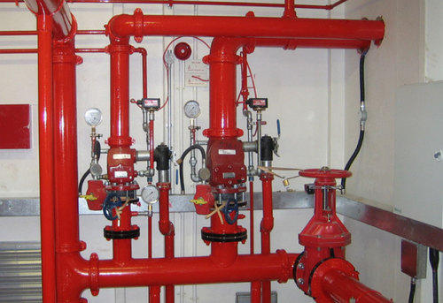 Fire fighting  installation system
