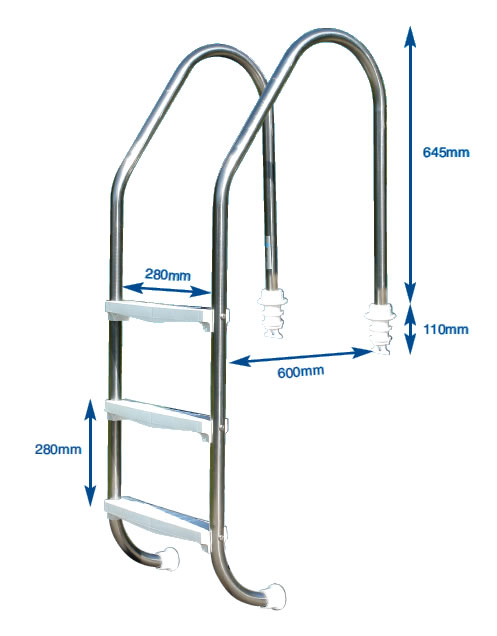 Mix Handrail Ladder