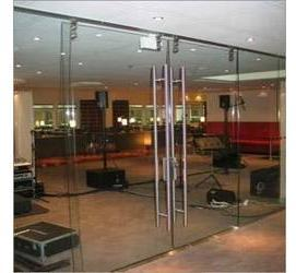 Frameless Toughened Glass Door