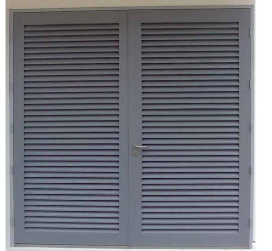 Aluminium Louvers Door