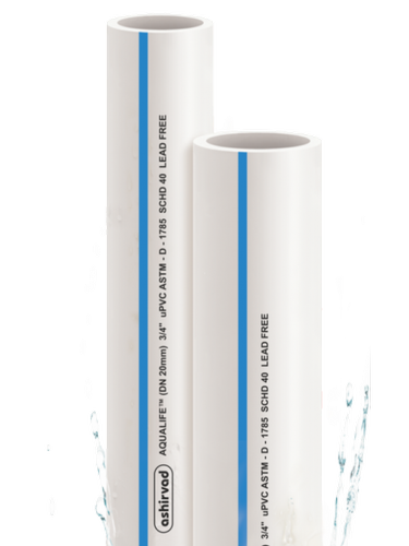 UPVC pipe SCH 80