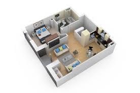 Architecture  3D Plan