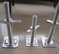 Galvanized Adjustable Base Jacks
