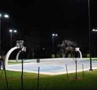 Basket Ball Court Lighting Services