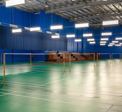 Badminton Court Lighting Services