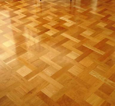 Commercial Parquet Wooden Flooring