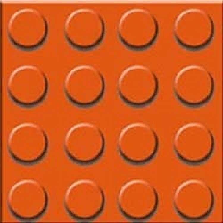 Mat Chequered Tile