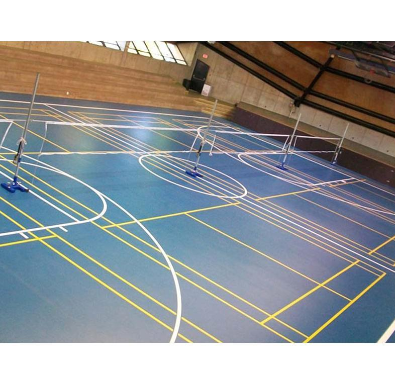 Synthetic track Flooring