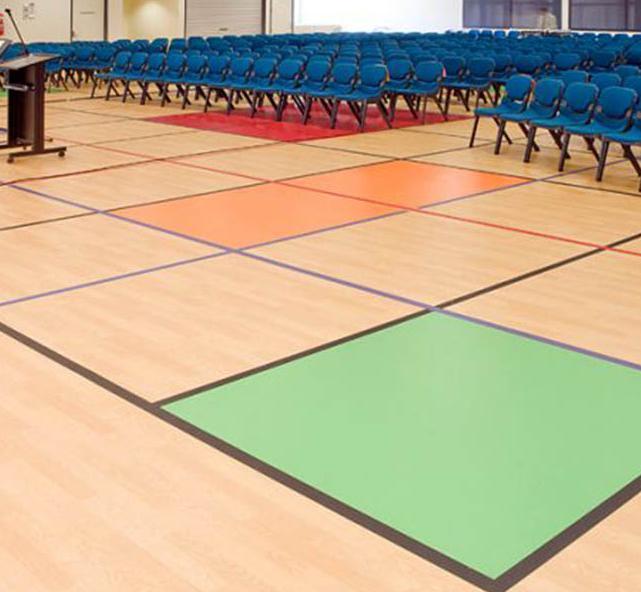 Multipurpose Hall Wooden Flooring