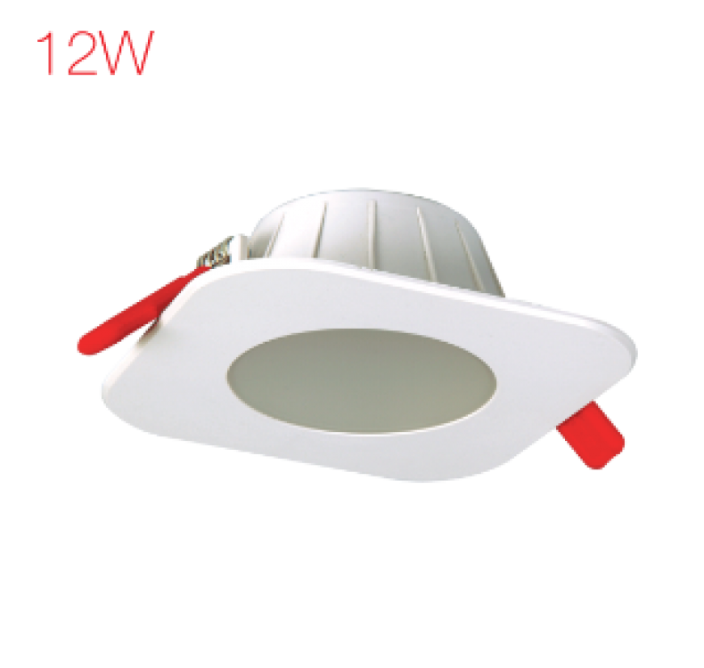 12W Downlighter Square