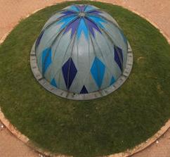 Fibre Reinforced Plastic Dome