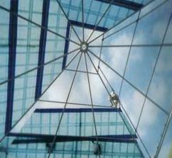 FRP Pyramid Domes