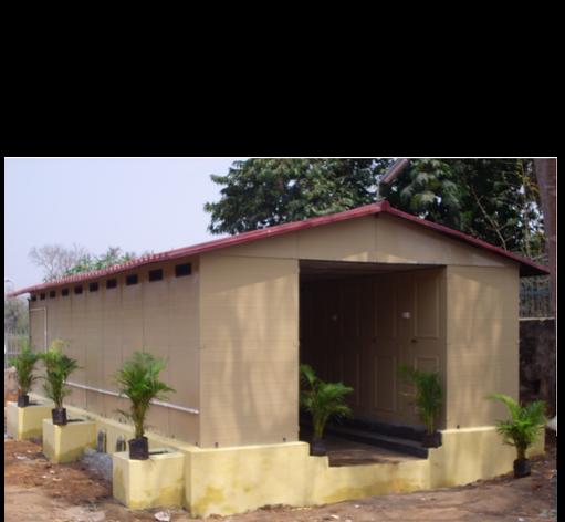 SMC Sanitary Cabin