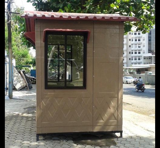 Fibre Reinforced Security Cabin