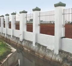 Compound Wall Construction Services