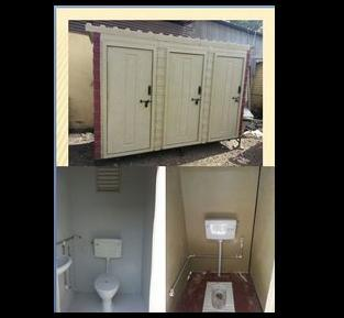 Toilet block (Executive Multiple)