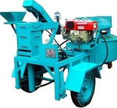 Diesel Operated Brick Machine
