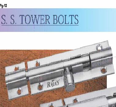 SS Tower Bolt