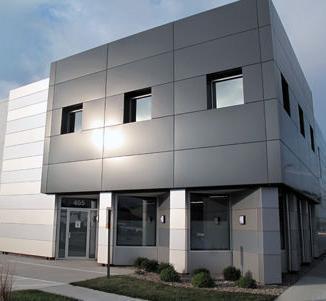 Aluminum Composite Paneling Fabrication Service