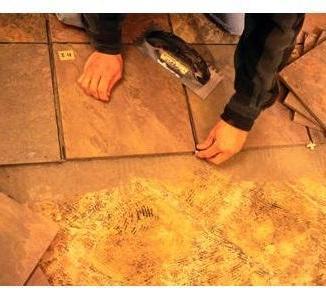 Floor Tiles Work