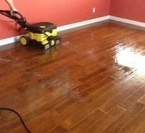 Wooden Flooring Cleaning Services