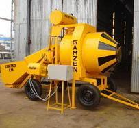 3 Bin 750 RM Reversible Drum Type Mini Mobile Batching Plant