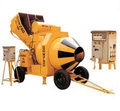 Reversible Drum Type Mini Mobile Batching Plant