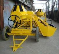 Hydraulic Bucket Loader Concrete Mixer