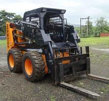 Skid Steer Loader with Pallet Fork