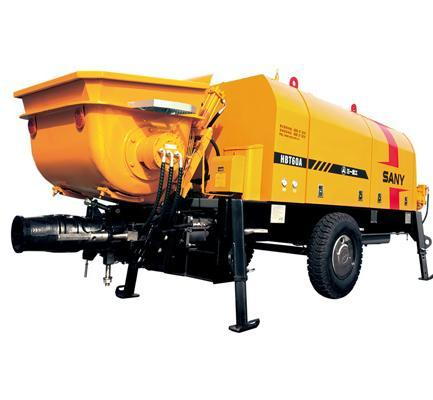 70m�/h Electric Trailer Pump