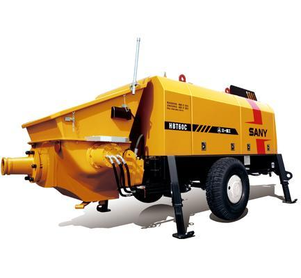 65m�/h Electric Trailer Pump