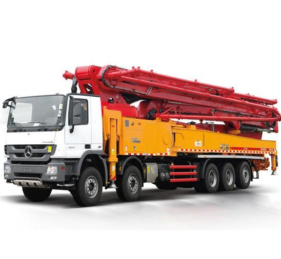 Truck-mounted Concrete Pump 62m.