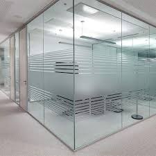 Frame less Glass Partition