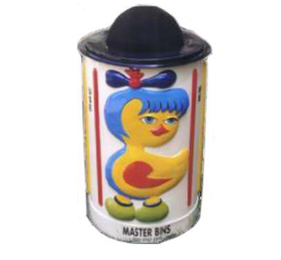 Lady Chicken Dust Bin