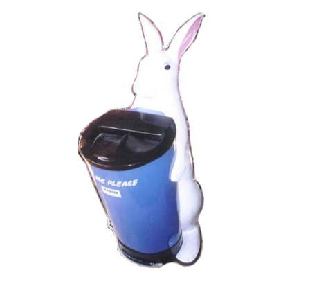 Rabbit Dust Bin