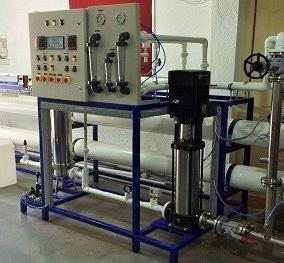 Semi-Automatic RO Plant