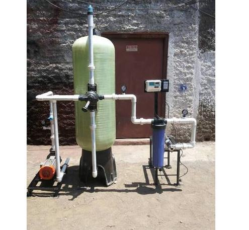 Semi-Automatic Water Softening Plant