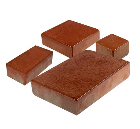 Rectangular Rubber Paver Blocks