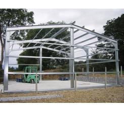 Stainless Steel Shed