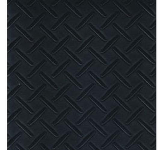 Chequered Black Vinyl Flooring