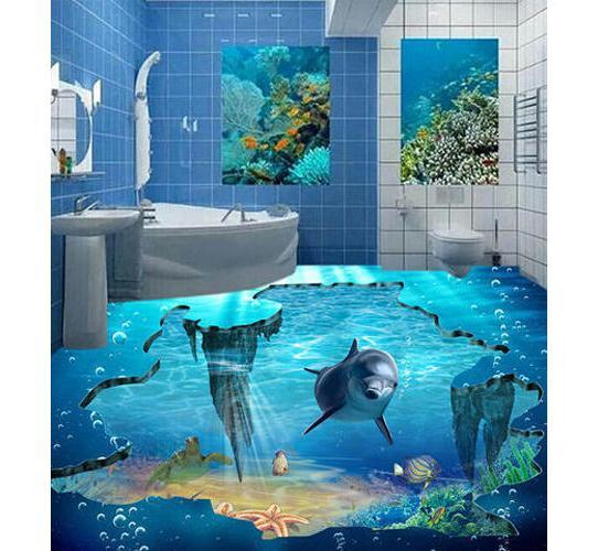3D Sea Floor Tile