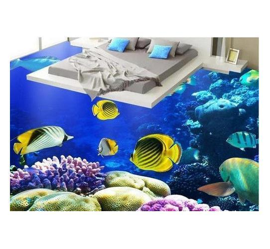 3D Bedroom Floor Tile