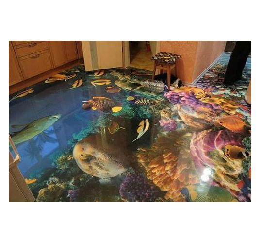 3D Designer Floor Tile