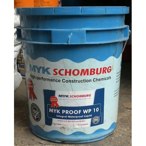 Waterproofing admixture.