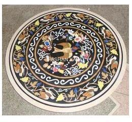 Stone Flower Inlaid Table Tops
