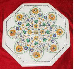 Octagonal Marble Table Tops
