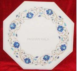 Marble Stone Inlay Table Tops