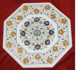 Inlay Art Work Marble Table Top