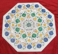 Marble Pietra Dura Table Tops
